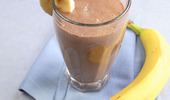 Banana-cocoa drink - 사진 번호. 1