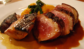 Spicy duck breast