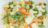 Frozen mixed vegetables - picture no. 1