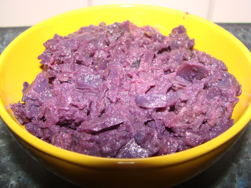 Red cabbage to duck or goose